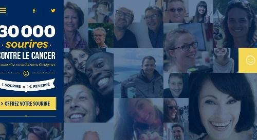 30 000 sourires contre le cancer