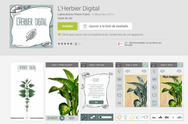 L'Herbier Digital Klorane