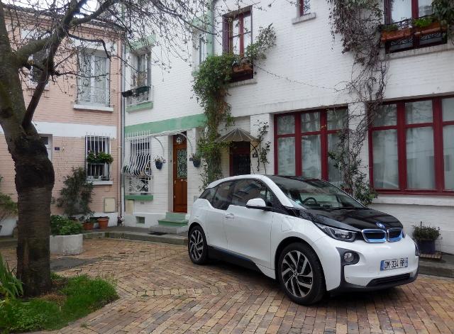 Sixt BMW i3