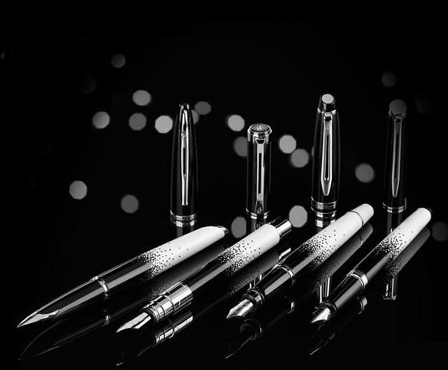 Ombres et Lumières, une collection de stylos Waterman
