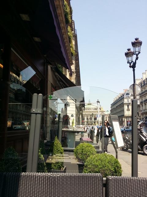 Terrasse Hôtel Edouard 7
