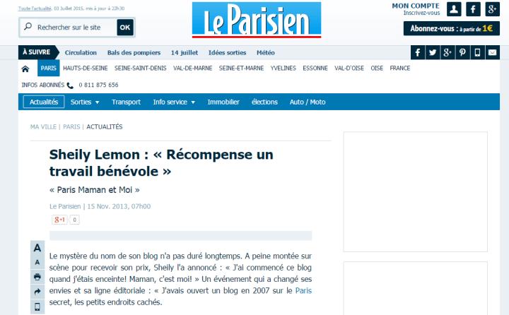 Presse - Le Parisien