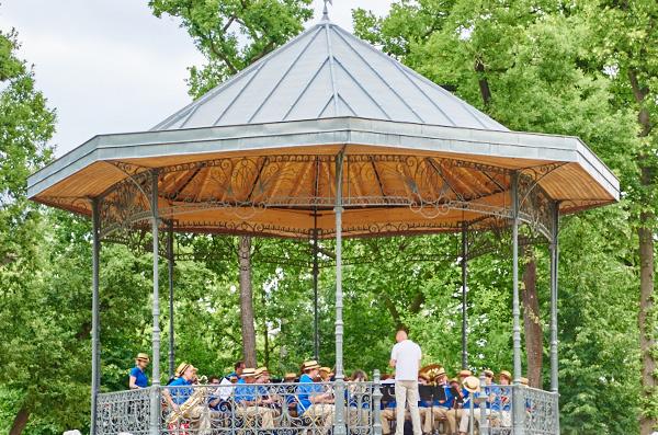 Musique et les concerts de plein air au Jardin d'Acclimatation