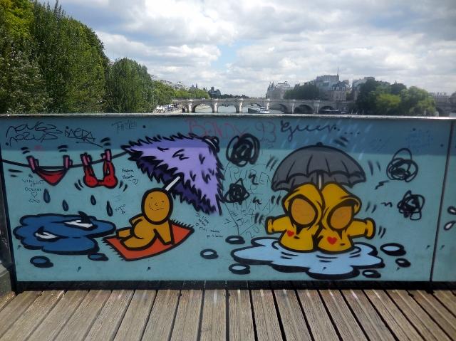 Jace sur le Pont des Arts
