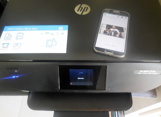 HP Envy 5640 et Instant Ink