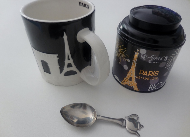 Paris est une fête : un thé bio George Cannon