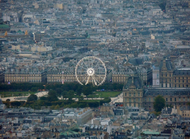 Coucher de soleil parisien