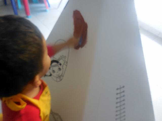Tipi en carton Wiplii décoration (1)