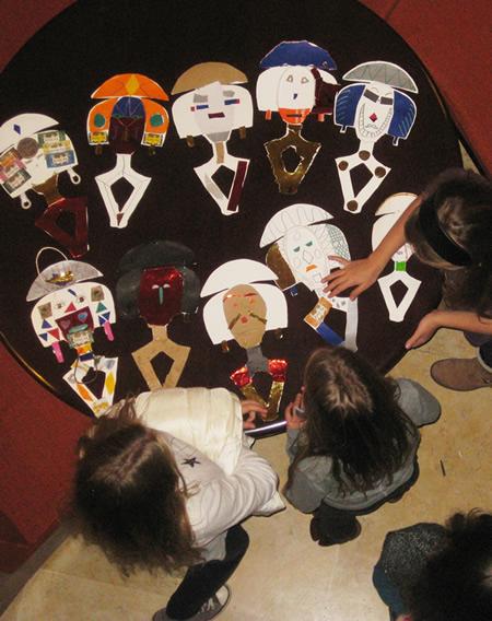 Atelier créatif Musée Dapper 2 vacances de Noël