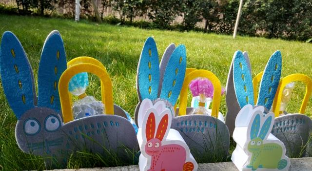 Enfants à Pâques œufs équipement Hema (4)