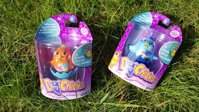 Enfants à Pâques œufs jouets Ouaps et Silverlit (1)