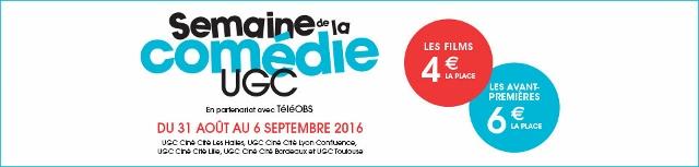 Semaine de la Comédie UGC (1)