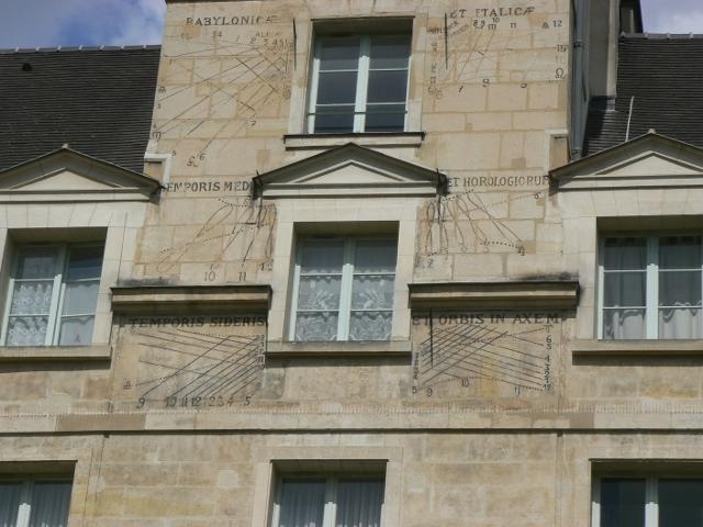 Lycée Louis le Grand Cadrans Solaires