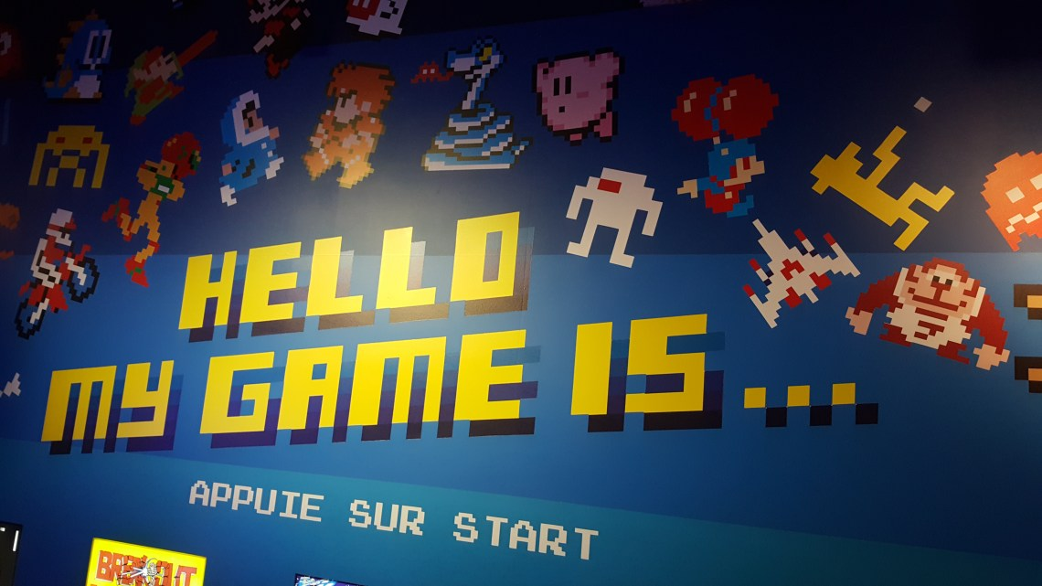 HELLO MY GAME IS INVADER MUSEE EN HERBE