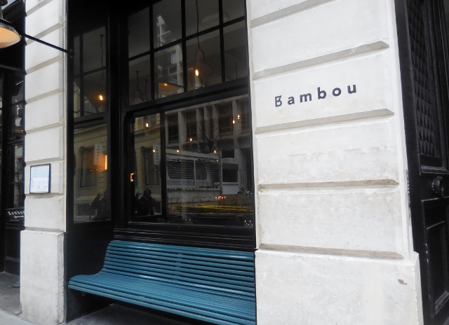 bambou restaurant tha landais paris avec une superbe terrasse. Black Bedroom Furniture Sets. Home Design Ideas