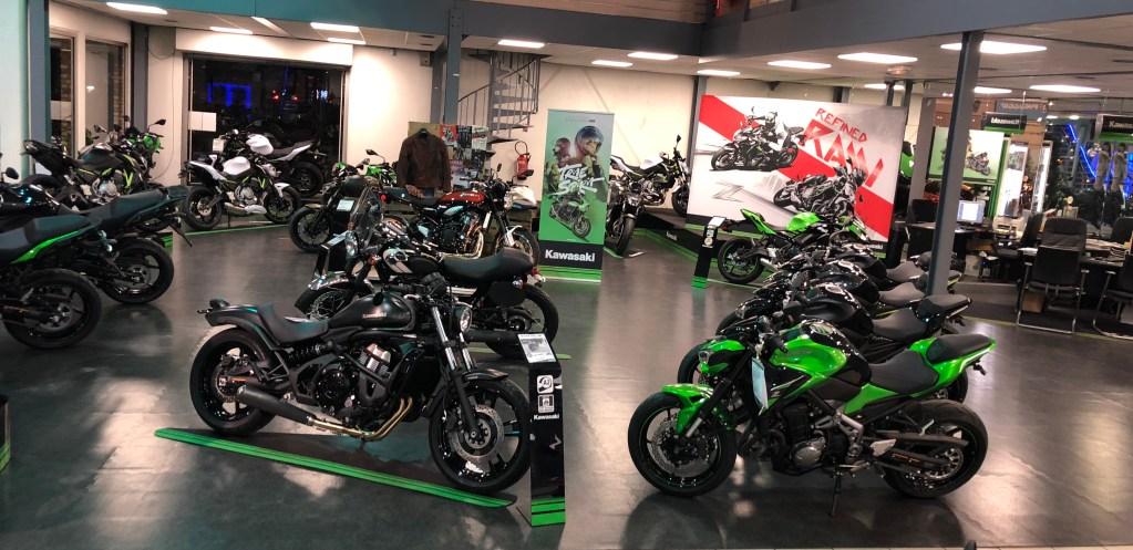 magasin kawasaki paris nord moto