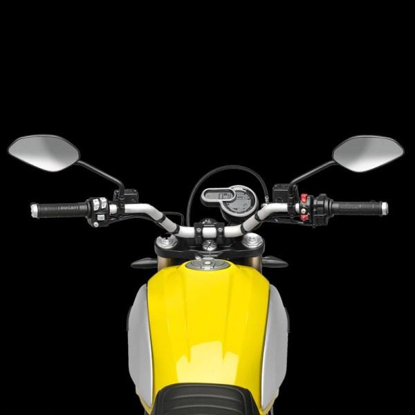 image poste pilotage Scrambler 1100 Paris Nord Moto