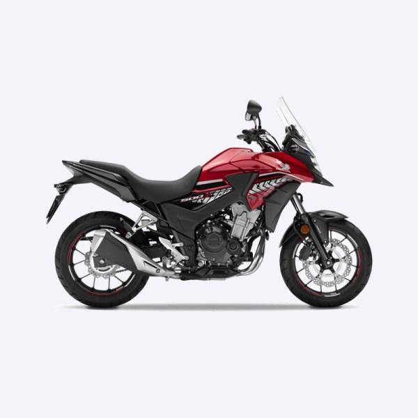 image CB500X 2017 rouge Honda Paris Nord moto