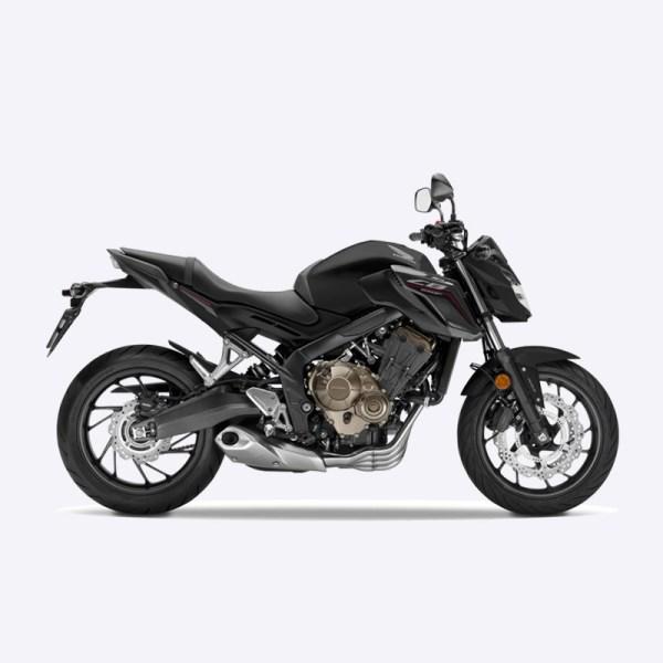 image CB650F 2017 noir honda Paris Nord Moto