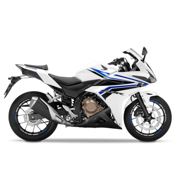 image Honda CBR500R blanc Paris Nord Moto