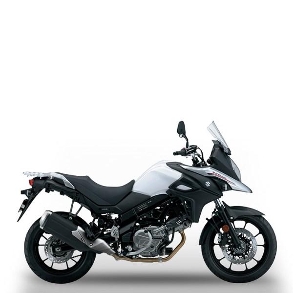 V-Strom 650 blanc Suzuki Paris Nord Moto