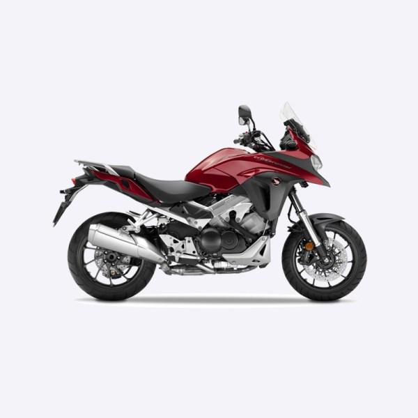 image VFR800X Crossrunner rouge Paris Nord moto