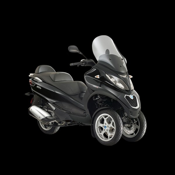 MP3 300 ABS-ASR BUSINESS noir Piaggio Paris Nord Moto