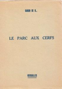 Le Parc Aux Cerfs Losfeld 1950