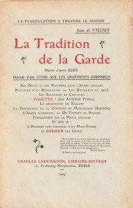 La Tradition de la Garde_0001