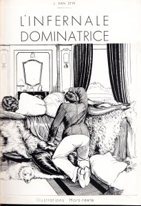 L'Infirnale Dominatrice glued on Cover