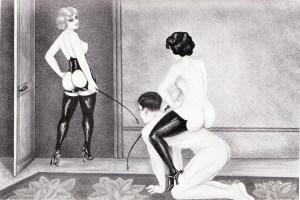 L'Infirnale Dominatrice Le Jardin D'Eros 1935_0005