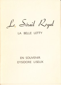 Le Serail Royal La Belle Letty Losfeld_0004
