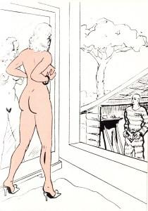 Les Audaces  amoureuses de Melle de B.. Losfeld_0009