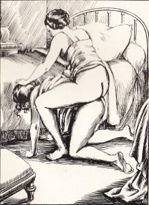 Irene et son Esclave Orties Blanches Davanzo 1933_0006