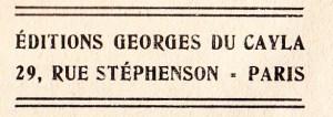Vice Secret Georges Du Cayla 1935_0011