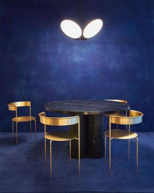 Philippe Malouin's chandelier, Pedro Paulo Venzon's chairs