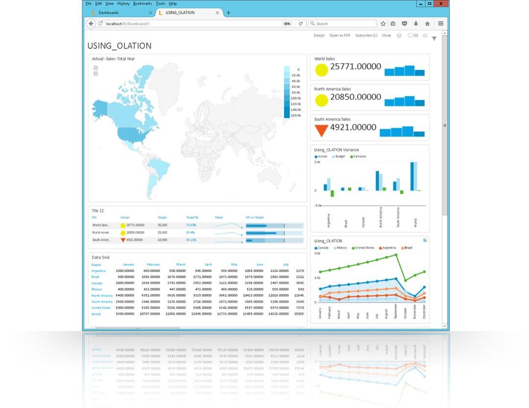 Leonardo Data Visualizations Dashboard Report
