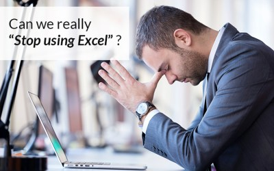 "Can we really ""Stop using Excel""?"