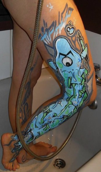 Body Painting • 2012 © DR
