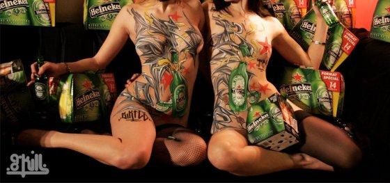 G-Kill body painting