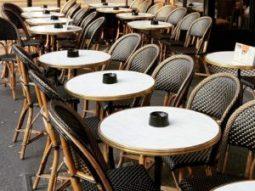 paris bistro tables