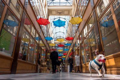 Passage du Grand Cerf in Paris.