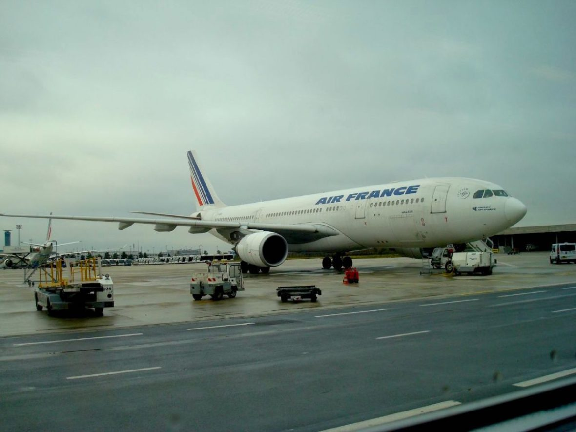 An Air France plane at Charles de Gaulle Airport in Paris. Image: Prayanks/Some rights reserved under Creative Commons.