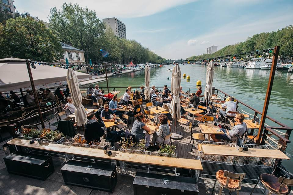 Paname Brewing company, a great new terrace in Paris' 19th arrondissement, is a local favorite. Paname Brewing Company/Official FB page