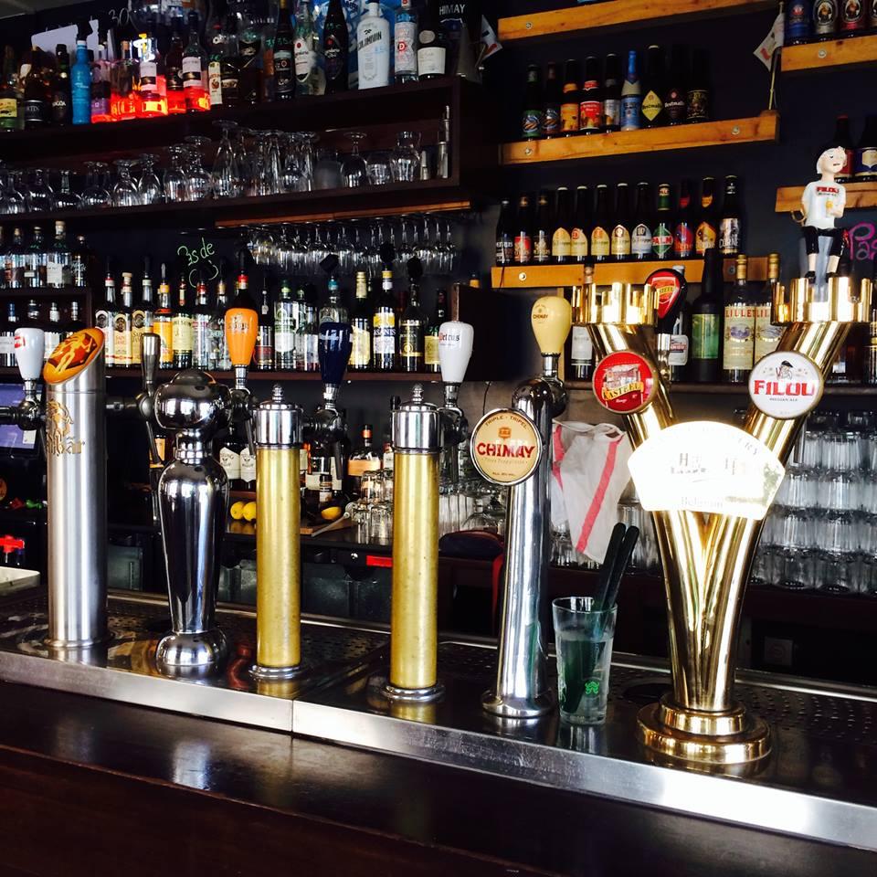 Le Bouillon Belge has many good-quality Belgian beers on tap .Image credit: Le Bouillon Belge/Claire Demanze