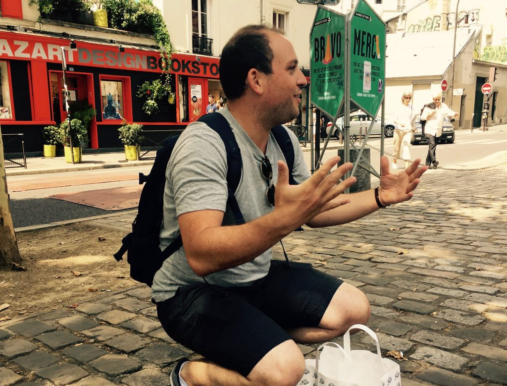 Leo Goldstein, the creator of the Eating Europe Paris tour, is affable and knowledgeable.