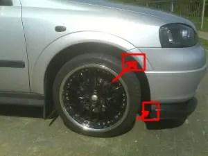 Astra MK4 Wheel Arch