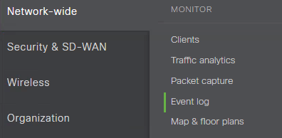 Meraki VPN – The remove connection was denied because the username