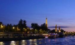 Paris sunset on the Seine