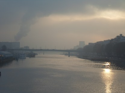 Fog over Seine